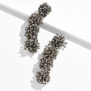 BaubleBar Ria Drop Earrings in Gray